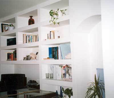 G s colori cartongesso come decorativo - Pareti decorative in cartongesso ...