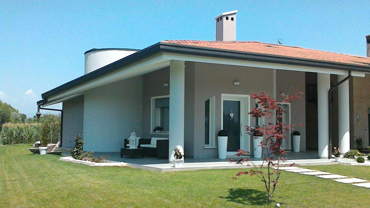 Colore esterno casa verde idee di design nella vostra casa - Esterno casa colore ...