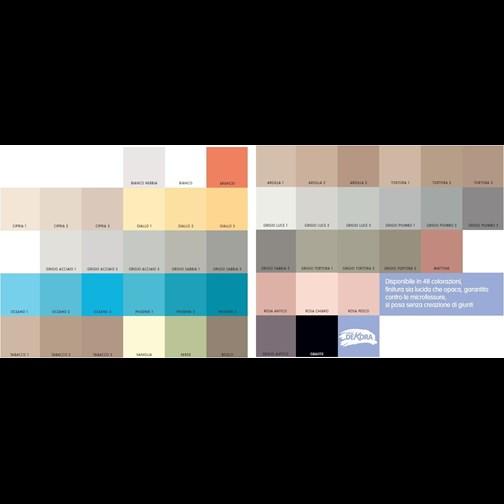 G s colori pavimento in resina gscolori - Resina su piastrelle esistenti ...